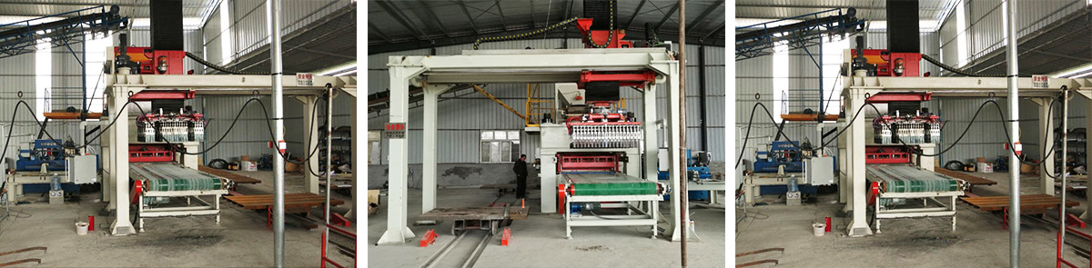 JYM-1280 automatic hydraulic brick machine